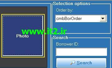 پروژه سیستم مدیریت کتابخانه -- Www.it2.ir